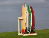 Alexey Surfboard Rack - free-standing, vertical rack for surfboards