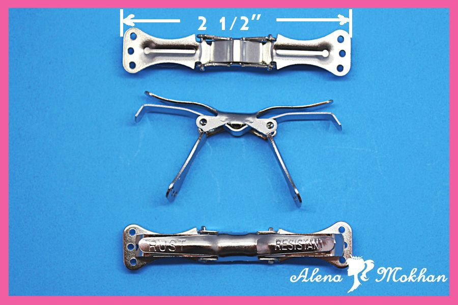 Quality Bow Tie Clips Fasteners Clip on Bow Tie Hardware ...