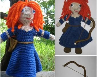 Crochet pattern amigurumi - Crochet doll pattern - amigurumi doll pattern