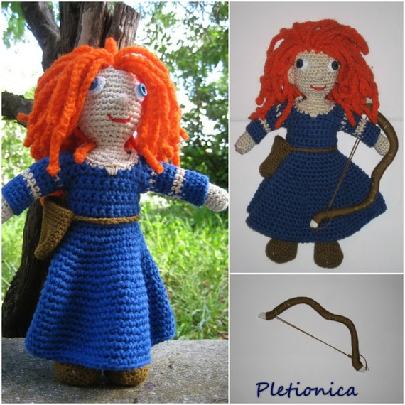 Crochet Amigurumi Doll Clothes : Crochet pattern amigurumi Crochet doll pattern Amigurumi