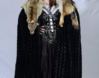 GoT inspired fur cloak