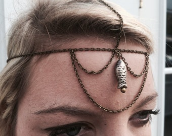 Mermaid Head Chain