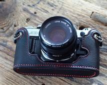 CANON AE-1 AE-1p a-1 Case, ae-1 leather cameras case, Canon Special Case,Leather Camera Case Bag