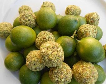 Key Lime Pistachio Dessert Balls