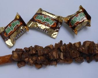 Milky Way Pretzel Rods