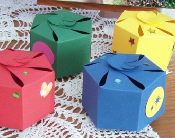 Gift box in variety of patterns