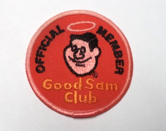 Vintage Patch Good Sam Club