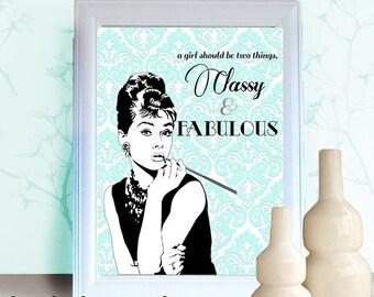 Audrey Hepburn Printable
