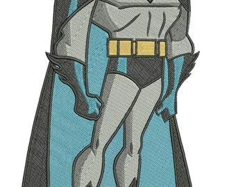 INSTANT DOWNLOAD Machine Embroidery Designs. Batman. Batman.