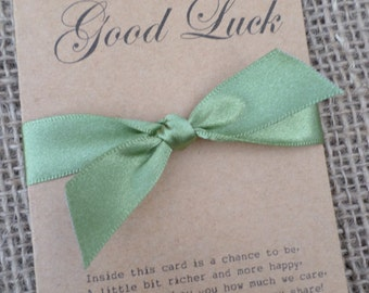 Vintage/Shabby Chic Scratch Card Holder for Wedding Favour