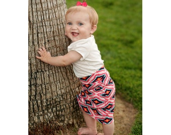 Baby-Toddler Knit Pencil Skirt