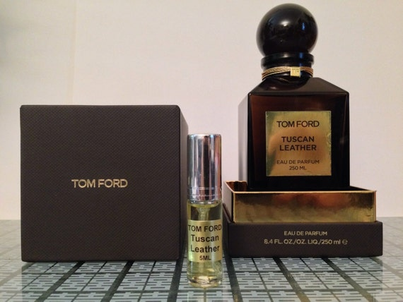 tom ford tuscan leather 5 ml refillable glass by superdecants. Black Bedroom Furniture Sets. Home Design Ideas