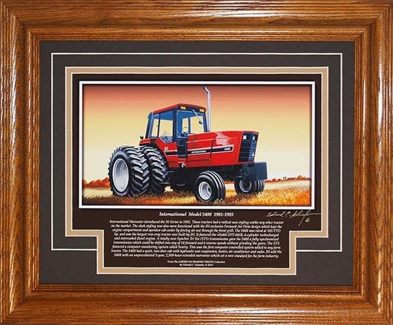International harvester farmall model 5488 1981 to 1985 with for International harvester wall decor