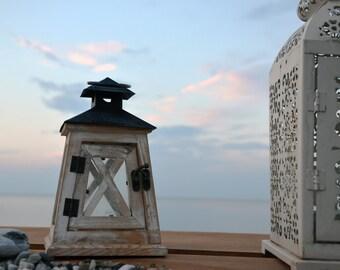 Seastyle Photography,Sea photography, Coastal Decor, Nautical Photography, Rack for candle photography, Sunset on the beach photography