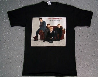The Cranberries No Need To Argue Tour T Shirt 1995 (Large)