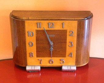 Vintage Art Deco Clock by 'Bayard'