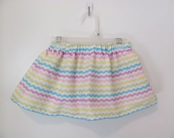 Pastel Stripe Skirt