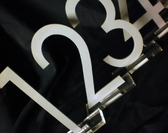 Cut Table Numbers - Customized to your color & to your font