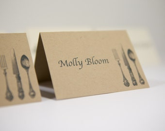Wedding place cards | Custom place cards | Personalized wedding table