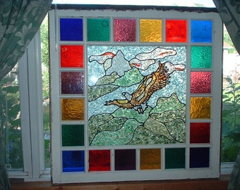 Stain Glass Eagle