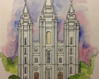 popular items for lds painting on etsy