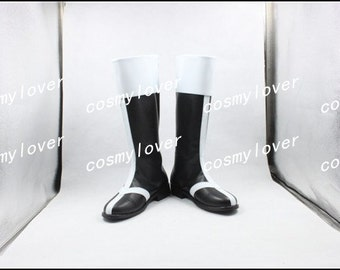 Bleach Ulquiorra Cifer Custom Made Cosplay Boots/Shoes