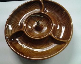 USA Pottery Lazy Susan Serving Dish