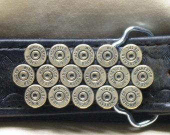 38 Special Bullet Belt Buckle Brass Straightline