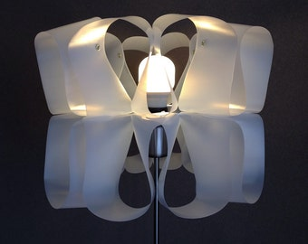 upcycle lampshade MILKWAVES out of plastic milk containers
