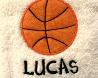 Basketball Personalized Sports Towel