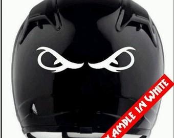 Helmet Decal Etsy - Motorcycle half helmet decals
