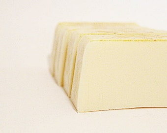 SHAMPOO - Lemongrass and Coconut Milk solid shampoo: all natural hair care