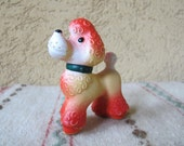 Soviet Rubber Vintage Toy, Russian Retro Rubber Dog, Made in USSR. Collectible