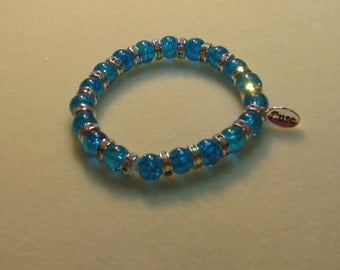 Interstitial Cystitis Awareness Bracelet