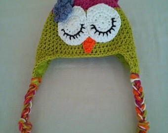 Owl Hat for Baby