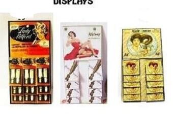 ladies vintage itemst shop displays