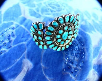 1920's Turquoise Cuff