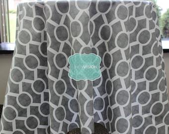 Tablecloth - Premier Prints - SYDNEY - Storm Grey - Choose Your Size - Table Linen Wedding Home Decor Dining Kitchen