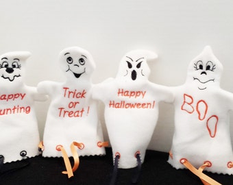 Ghost Treat Bags and Puppet