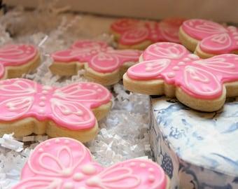 Butterfly Sugar Cookies
