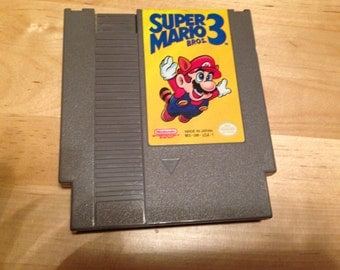Super Mario 3 Video Game Cartridge | NES | Nintendo | Cleaned and Tested | Collectible