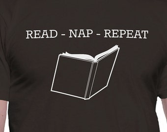 Read Nap Repeat T-Shirt