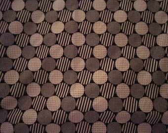 Baby Crib Sheet or Toddler Bed Sheet - Black and White Circles