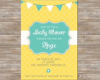 Baby Shower Invite New Mom
