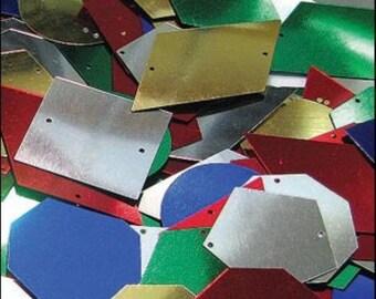 Geometric Shape Sequin Mix! - JR02352
