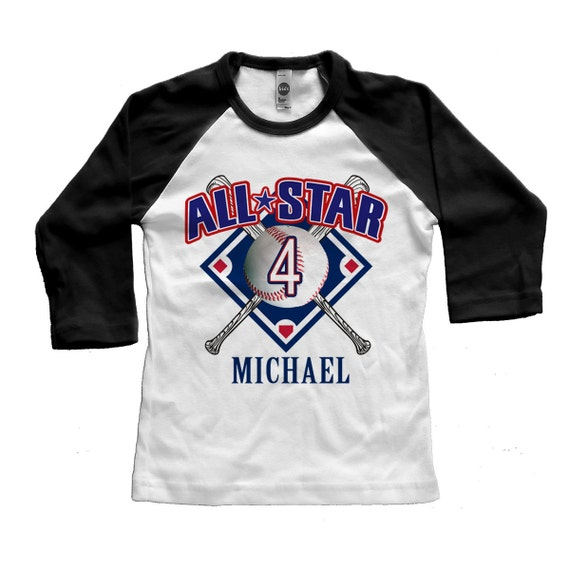 Baseball birthday custom t shirt digital printed american for Custom t shirt digital printing