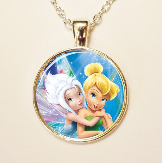 Tinkerbell Charm Bracelet: Items Similar To Disney Tinkerbell And Periwinkle Pendant