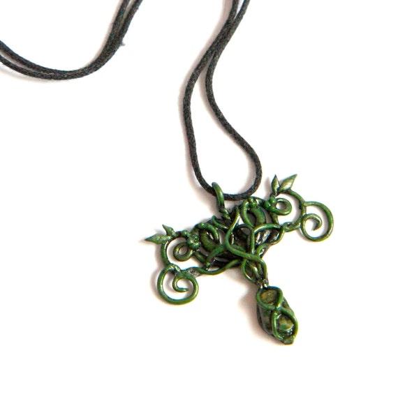 elvish forest pendant