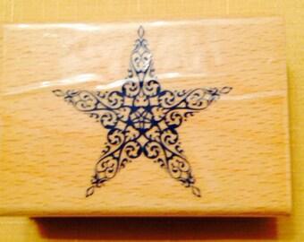 Scrolly Star