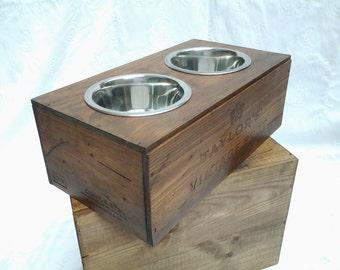 vintage Dog  feeding station (medium)